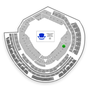 MLB at Nationals Park Section 133 View