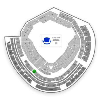 MLB at Nationals Park Section 209 View