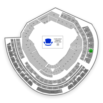 MLB at Nationals Park Section 226 View
