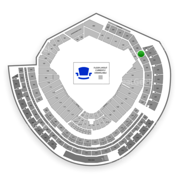 MLB at Nationals Park Section 237 View