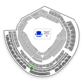 MLB at Nationals Park Section 311 View