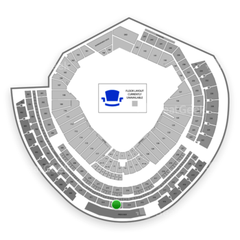 MLB at Nationals Park Section 313 View