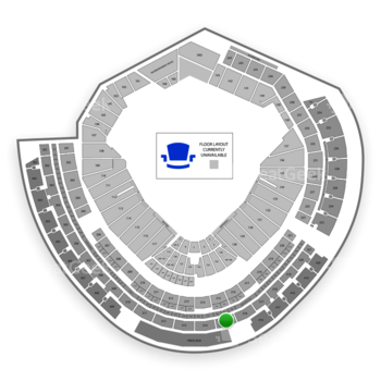 MLB at Nationals Park Section 315 View