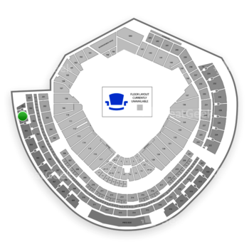 MLB at Nationals Park Section 402 View