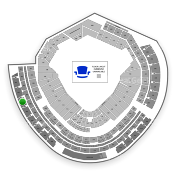 MLB at Nationals Park Section 404 View