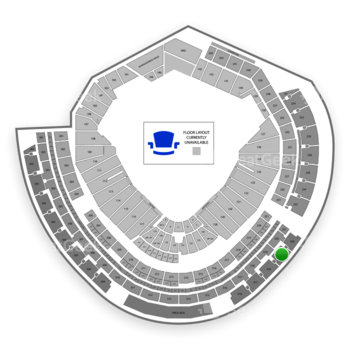 MLB at Nationals Park Section 419 View