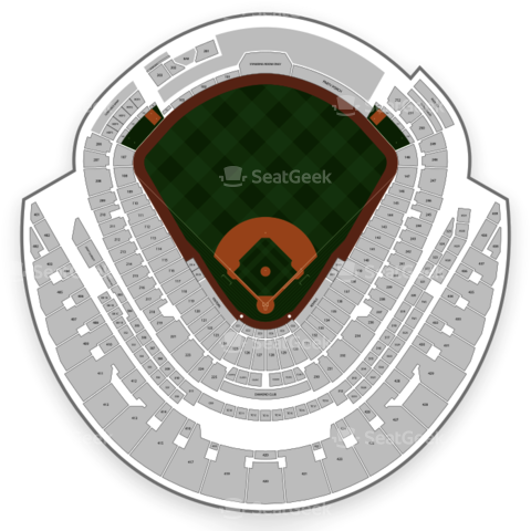 Kauffman Stadium seating chart Kansas City Royals