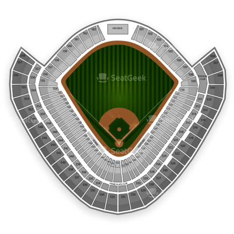 U.S. Cellular Field seating chart Chicago White Sox