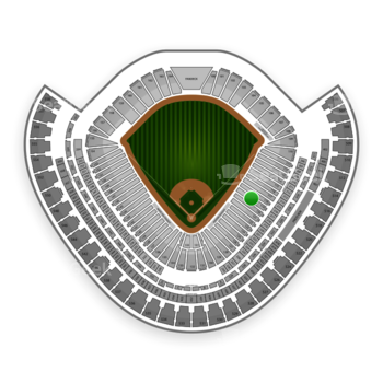 Chicago White Sox at US Cellular Field Section 119 View