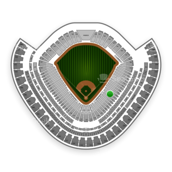 Chicago White Sox at US Cellular Field Section 121 View