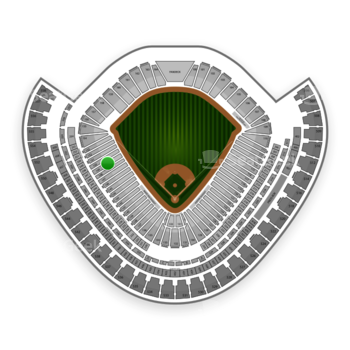 Chicago White Sox at US Cellular Field Section 149 View