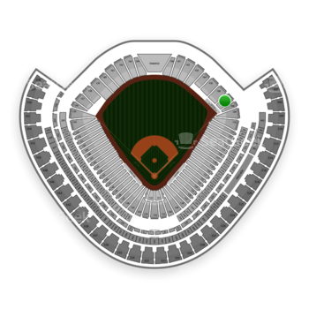 Chicago White Sox at US Cellular Field Section 107 View