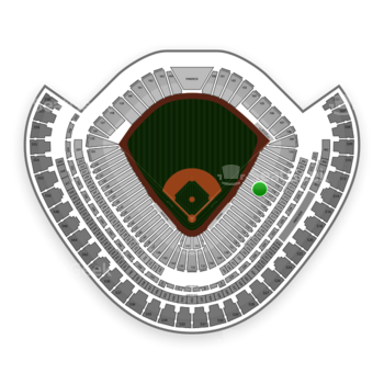 Chicago White Sox at US Cellular Field Section 117 View