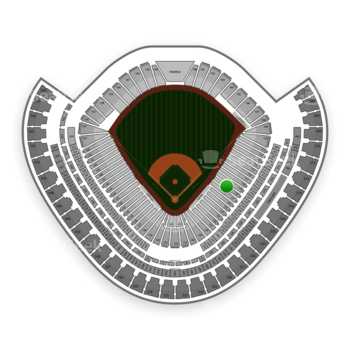 Chicago White Sox at US Cellular Field Section 120 View