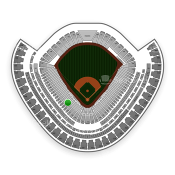 Chicago White Sox at US Cellular Field Section 140 View