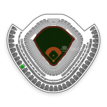 Chicago White Sox at US Cellular Field Section 544 View