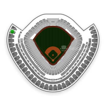 Chicago White Sox at US Cellular Field Section 557 View