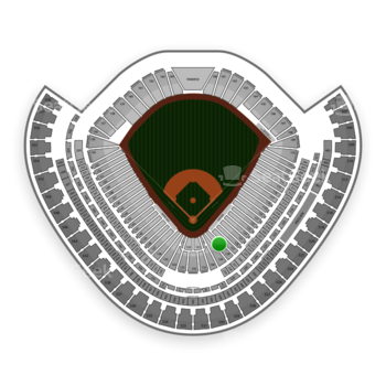 Chicago White Sox at US Cellular Field Section 128 View