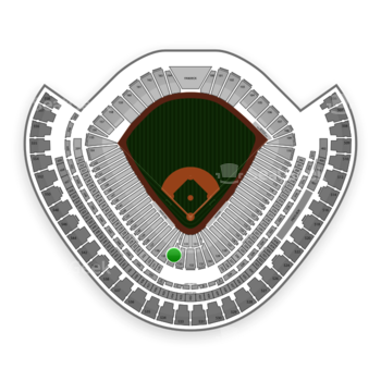 Chicago White Sox at US Cellular Field Section 134 View