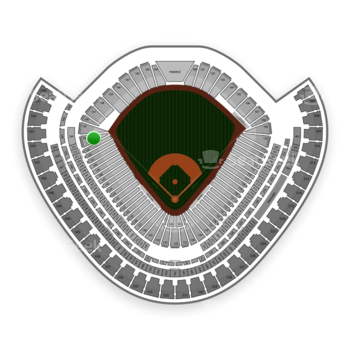 Chicago White Sox at US Cellular Field Section 154 View