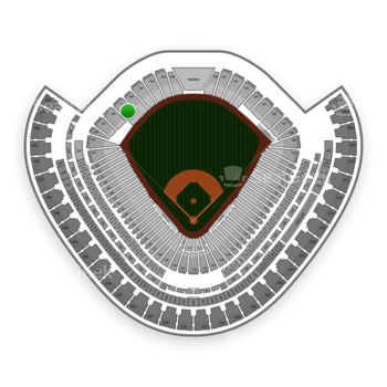 Chicago White Sox at US Cellular Field Section 159 View