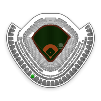 Chicago White Sox at US Cellular Field Section 537 View