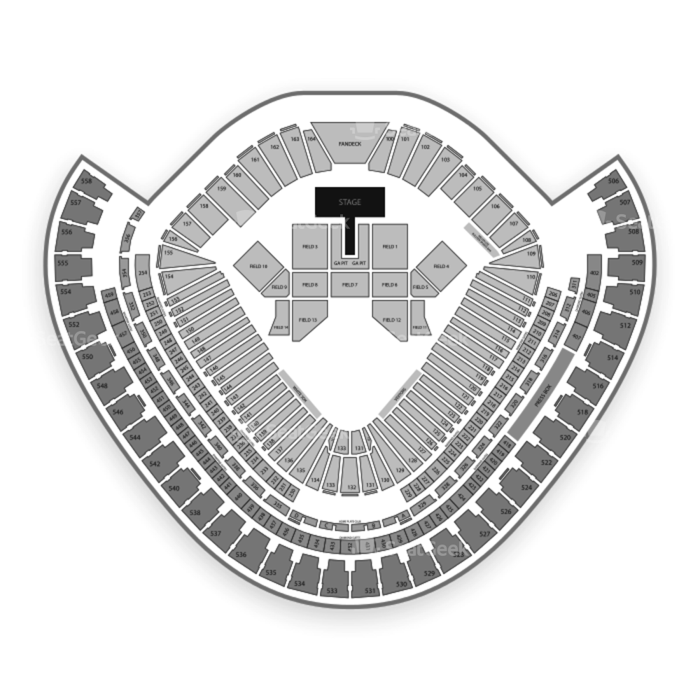 Guaranteed Rate Field Seating Chart Concert