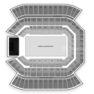 Florida Citrus Bowl Seating Chart Concert