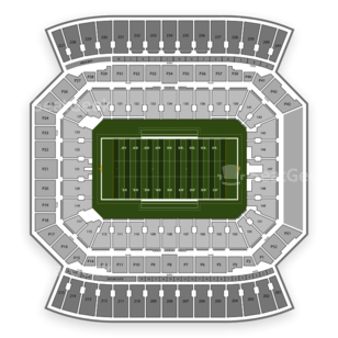 Orlando Citrus Bowl Seating Chart NCAA Football