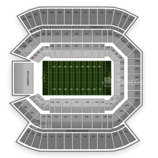 Florida Citrus Bowl Seating Chart NCAA Football
