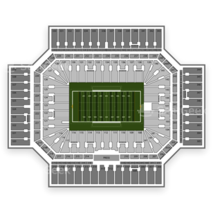 Alamodome Seating Chart NCAA Football