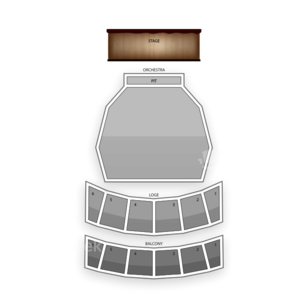 Long Beach Terrace Theater Seating Chart Dance Performance Tour