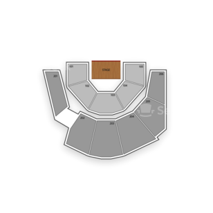 Treasure Island - Mystere Theater Seating Chart Concert