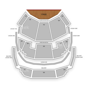 O Theater - Bellagio Seating Chart Concert