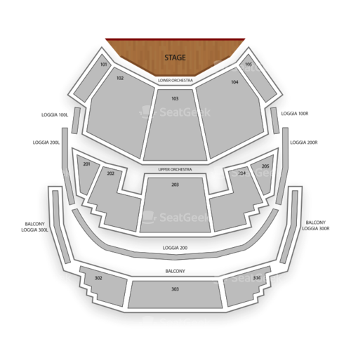 Bellagio Hotel & Casino Seating Chart Concert