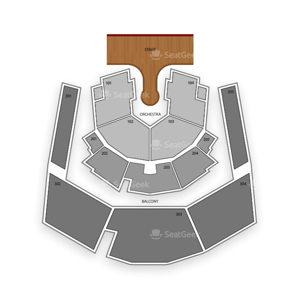 Zumanity Theatre at New York NY Hotel and Casino Seating Chart Cirque Du Soleil
