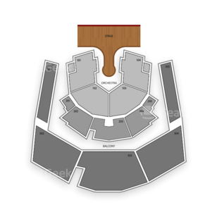 Zumanity Theater - New York - New York Hotel & Casino Seating Chart Cirque Du Soleil