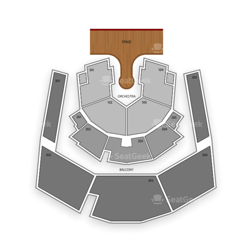 Zumanity Theatre at New York NY Hotel and Casino Seating Chart Concert
