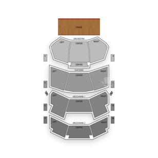 Dolby Theatre Seating Chart Theater