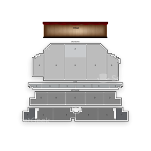 Golden Gate Theatre Seating Chart Comedy