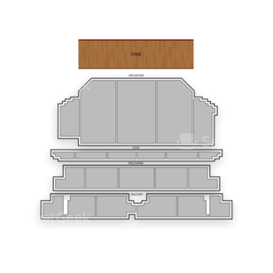 Golden Gate Theatre Seating Chart Theater
