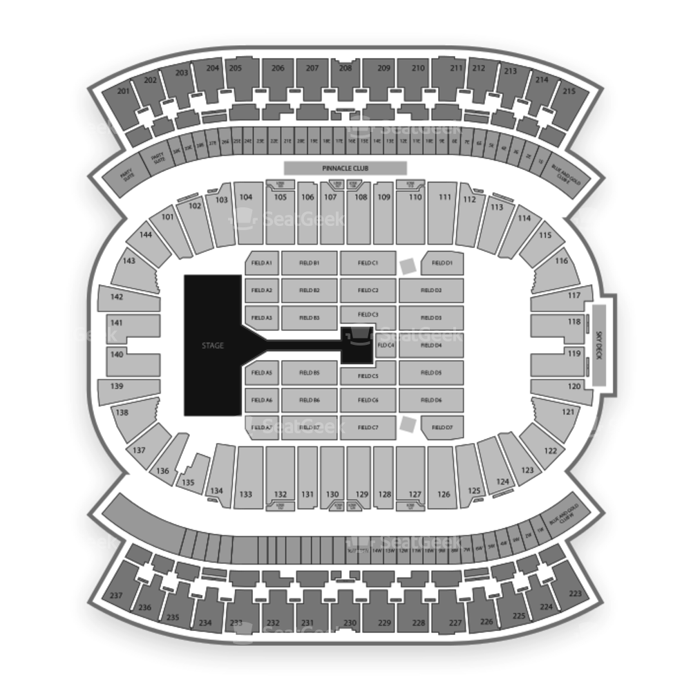 Investors Group Field Seating Chart Concert