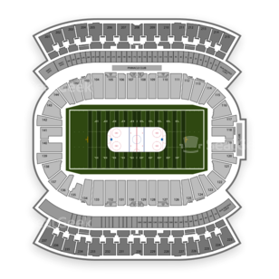 Investors Group Field Seating Chart NHL
