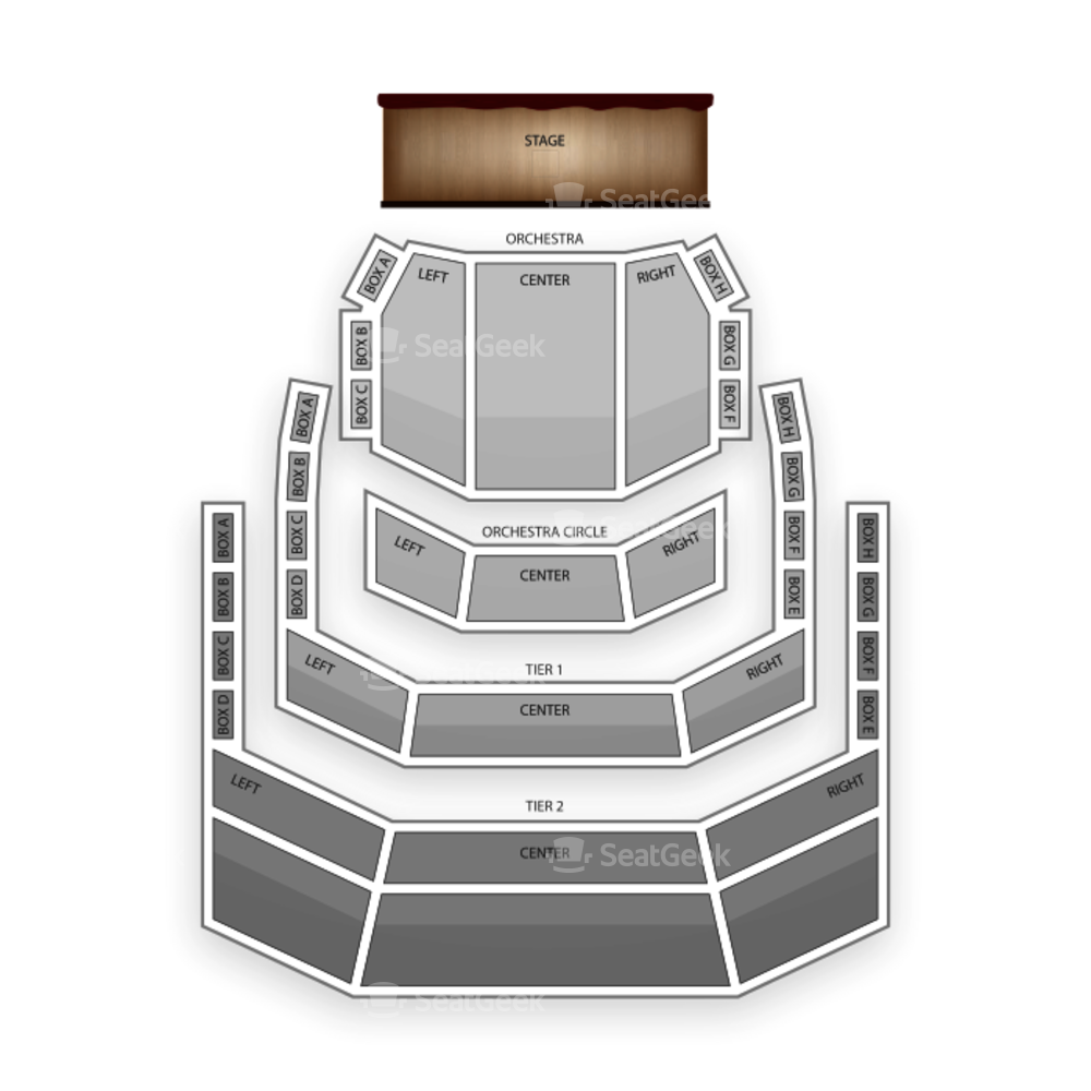 Holland Performing Arts Center Seating Chart Concert