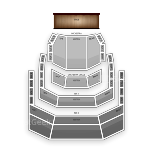 Holland Performing Arts Center Seating Chart Theater