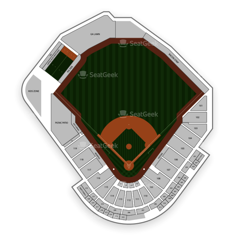 Lehigh Valley IronPigs Seating Chart