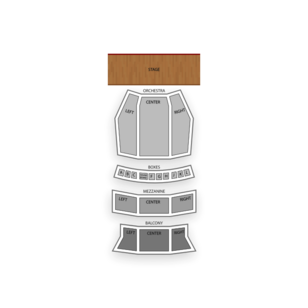 Ohio Theatre Seating Chart Comedy