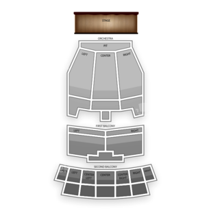 Lila Cockrell Theatre Seating Chart Classical