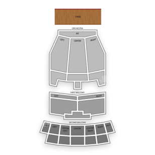 Lila Cockrell Theatre Seating Chart Comedy