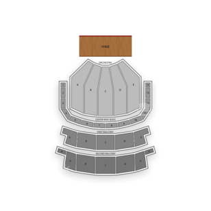 Keller Auditorium Seating Chart Theater